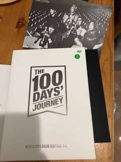 The 100days' journey [win's epilogue edition dvd]