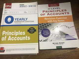 POA olvl TYS and revision exercise book