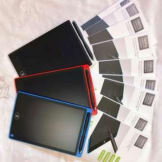 (現貨)熱賣8.5寸兒童畫板,電子畫板,手寫記事,手寫板,兒童禮物 8.5 inch Writing Drawing Pad Electronic Digital Tablet