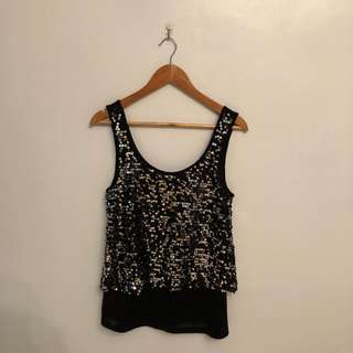 Vero Moda sequinned top