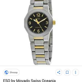 Movado ESQ Swiss Oceania Quartz Authentic from US