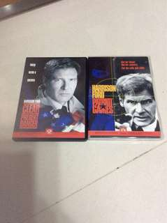 Harrison Ford's 2 DVDs For $8