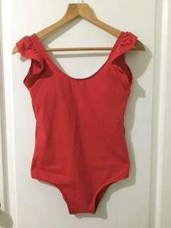 Red Monokini