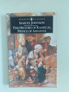 The History of Rasselas, Prince of Abissinia Samuel Johnson