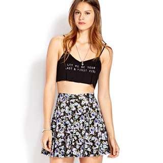 (Size 29) Forever21 Lavender Fields Skirt