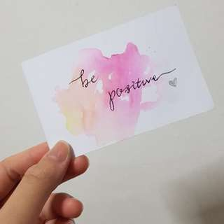 Customised Watercolour Cards