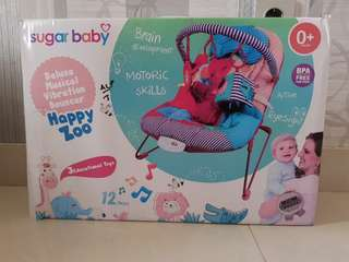 Sugar Baby bouncer happy zoo