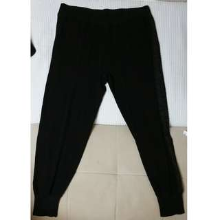 NINA RICCI Black Pants