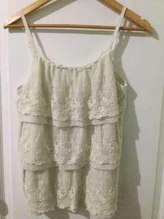 2 White blouse for 150