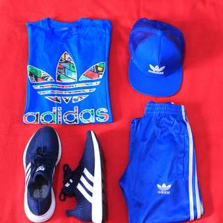 Adidas outfit head to toe