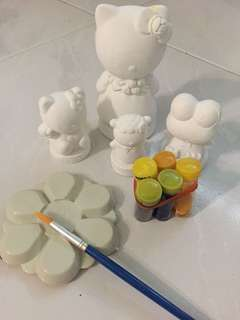 Sanrio clay Figurines