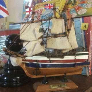 Golden Hind 1578 Ship