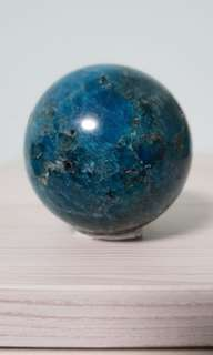 Blue Apatite Sphere 蓝磷灰石