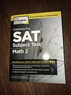 SAT Books Math 2 2nd Edition