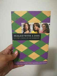 Sealed With a Diss By Lisa Harisson