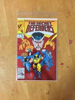 The Secret Defenders #1 - 1993 Series