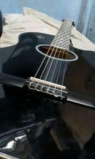 RUSH SALE 2700 RJ Prestige Acoustic Guitar with FREEBIES
