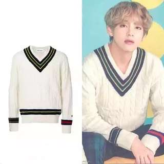 BTS V WINTER SWEATER