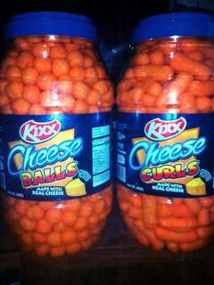 KIXX Cheese Balls & Cheese Curls