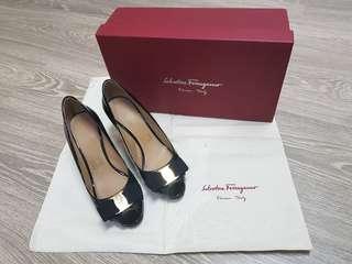 Excellent Condition Salvatore Ferragamo High Heels Size 5