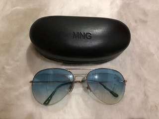 Authentic MNG Aviator Sunglasses
