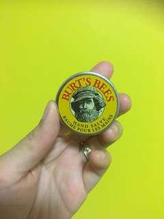 Burt's bees hand cream