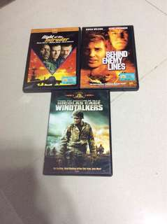 3 Military Action DVDs All For $10