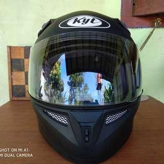 KYT K2 Black Doff