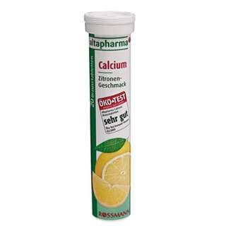 🚚 德國 ROSSMANN 發泡錠/氣泡錠 鈣 - (檸檬口味)