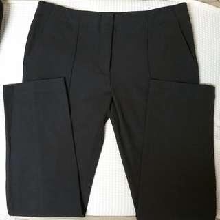 THE ROW Brownish Grey Pants