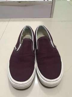 Vans Slip on Maroon Size 9 Swap or sale