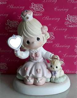 Precious Moments Figurine - Love Is Reflected In You