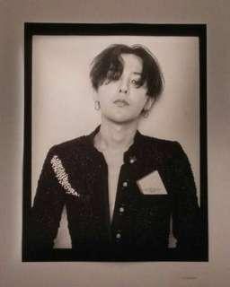 GD G-Dragon poster mademoiselle prive Hong Kong chanel