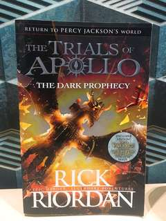 Books of apollo- The dark prophecy