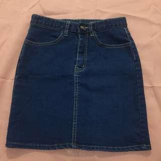 Preloved Denim skirt