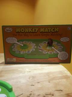 Monkey mtaching games