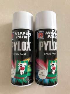 Spray Paint (Matt white)