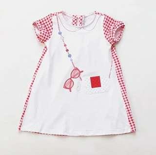 立體小手袋紅裙
