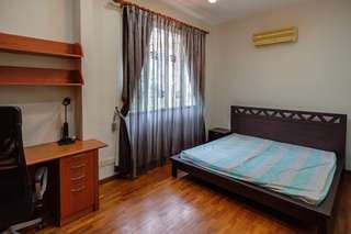 Huge bedroom in a semi-detached house