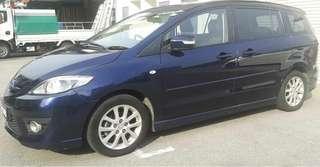 Mazda 5 2.0 auto Power door Harga balik kg raya RM4,600 .