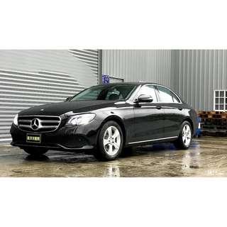 #17年 #Benz #W213 #E200 #AVANTGARDE  2.0 / L4渦輪增壓 / #9速手自排 / #馬力184Hp  #扭力30.6kg #搭配帝王黑 #本廠只賣好車  #你需要的是一間有規模又負責任的車商