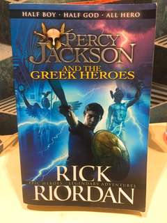Percy Jackson and the Greek heroes / gods