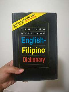 English-Filipino Dictionary (Hardbound)