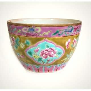 19thC Straits Chinese Peranakan Nonya Porcelain 清末南洋粉彩瓷