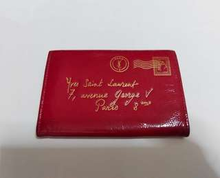 ysl saint laurent card holder