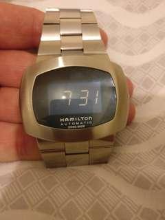 Hamilton automatic digital watch