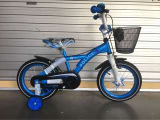 "Sportive 14"" Police Children Bike"