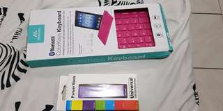 ColorKeys Keyboard with free power bank
