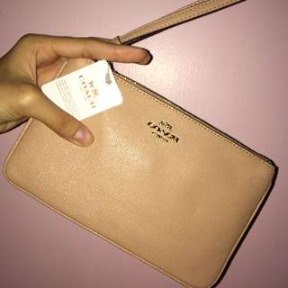 Coach Purse Nude Pink