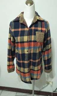 🚚 超暖格子襯衫